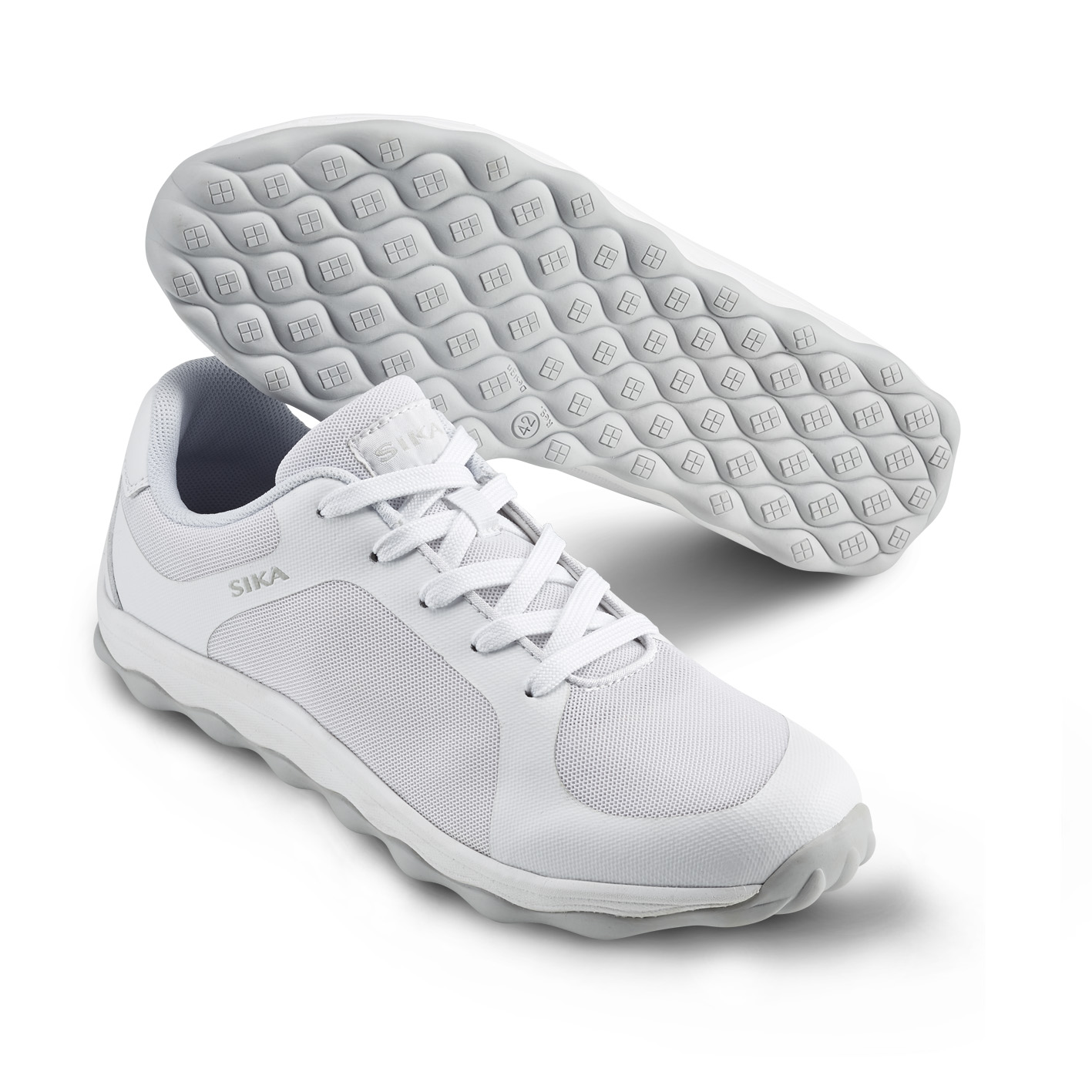 Mjuk arbetssko i sneakersmodell Vit (41)
